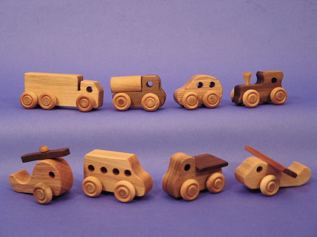 Little Rollie Vehicle Complete Set