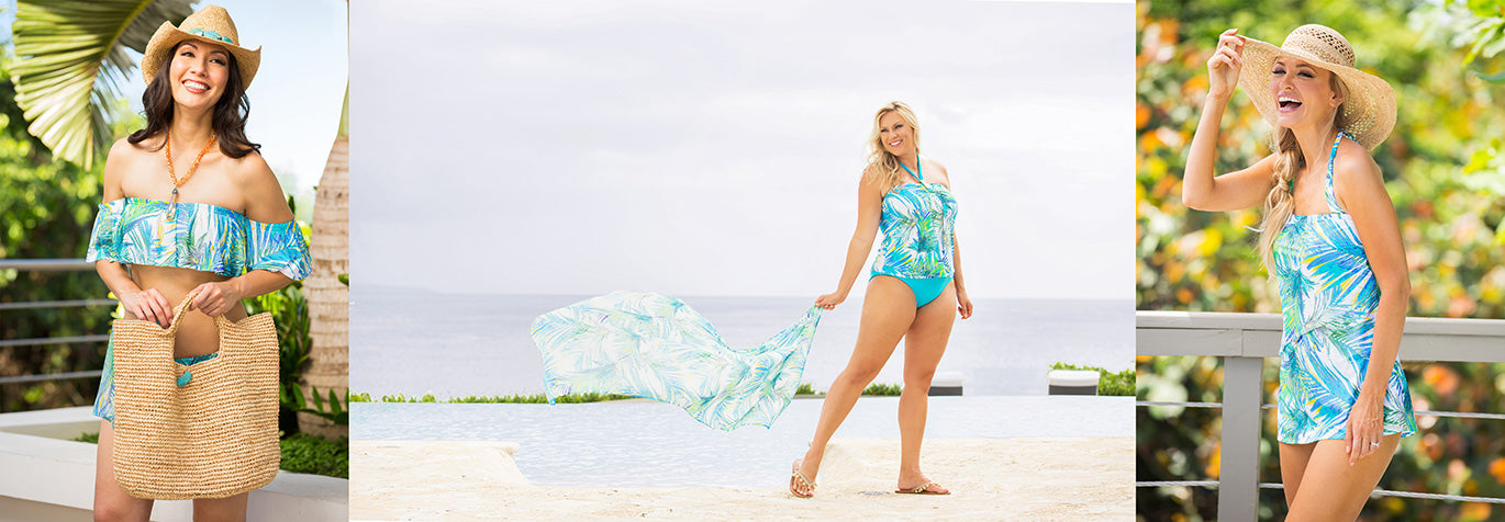 Shop for Aguadilla swimwear and resort wear from Tara Grinna.