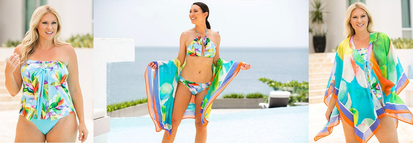 Shop for Salinas swimwear and resort wear from Tara Grinna.