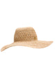 Lillianna Raffia Wide Brim Hat