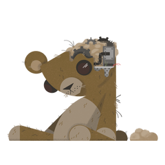 Clockwork Teddy Bear