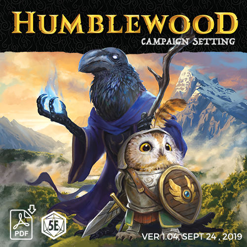 Cover of Humblewood: Adventure in the Wood