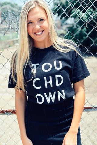 Touch Down Graphic Tee