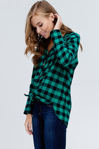 Fallin' Flannel - Green