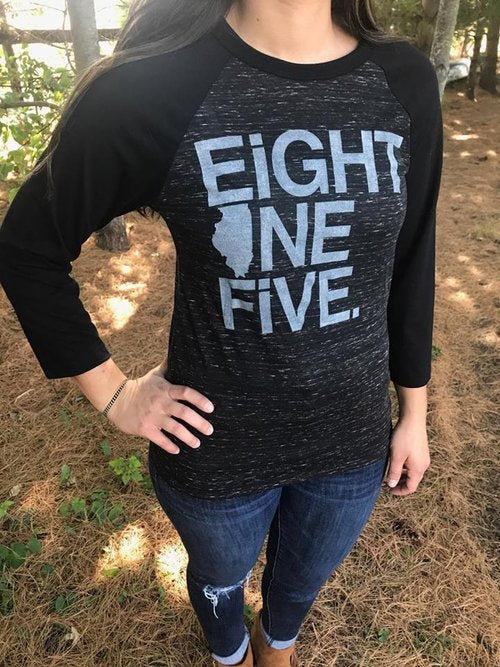 Eight One Five 3/4 Sleeve