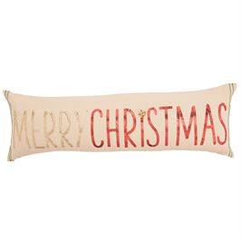 Merry Christmas Sequin Pillow