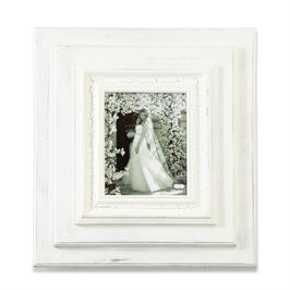 White Washed Picture Frame - 8x10