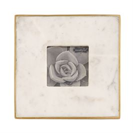 Marble & Gold Picture Frame - 3x3