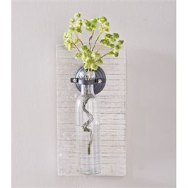 Wooden Wall Vase