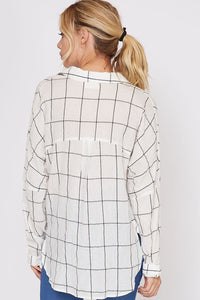 Sand Dunes Button Down Top