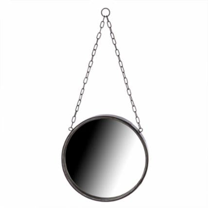 Small Metal Mirror