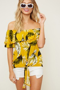 Pina Colada's Cold Shoulder Top
