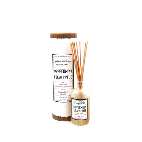 Southern Firefly Candle Co. - Peppermint Eucalyptus Reed Diffuser