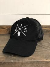 815 Baseball Cap - Black and White!