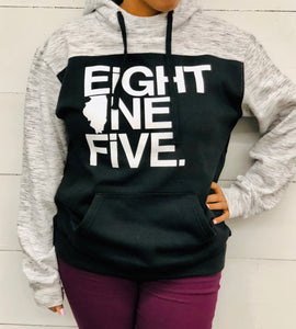 Eight One Five Tri-Color Hoodie
