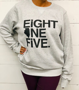 Eight One Five Crewneck Sweatshirt