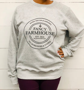 Fancy Farmhouse Crewneck Sweatshirt