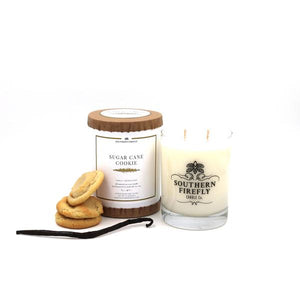 Sugar Cane Cookie Candle