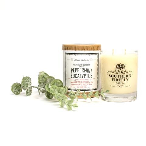Southern Firefly Candle Co. - Peppermint Eucalyptus Candle