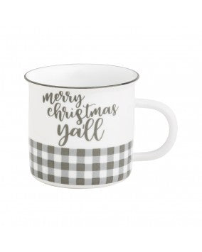 Christmas Ya'll Camp Mug