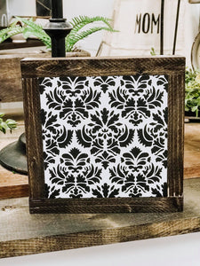 Floral Aztec Mini Sign