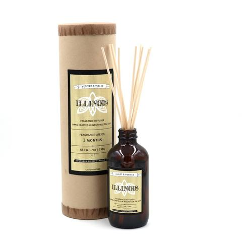 Southern Firefly Candle Co. - Illinois Reed Diffuser