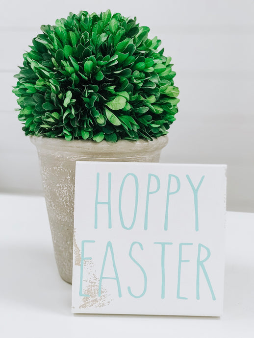 Hoppy Easter Mini Sign