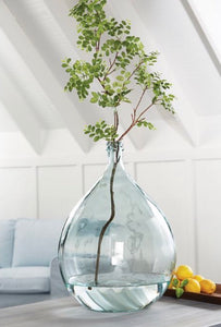 Large Carafe Glass Vase - pick up only