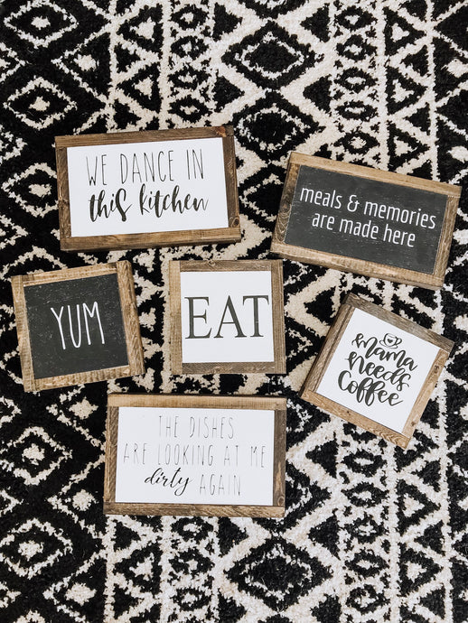 Kitchen Signs - Deal of the Day!