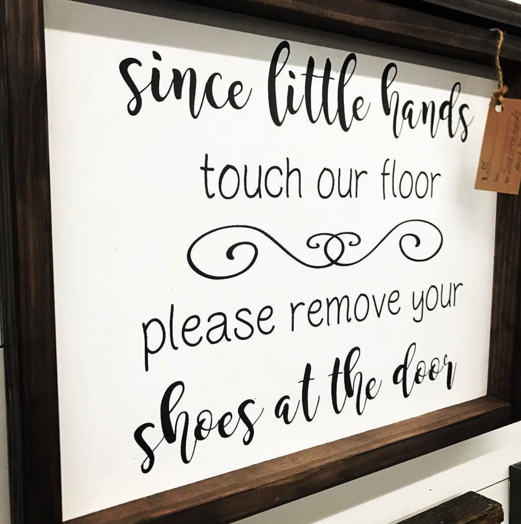 Little Hands Sign