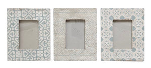 Cement Frame Grey/White, 3 Styles