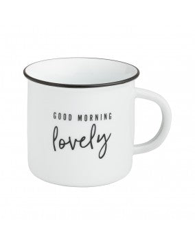 Good Morning Lovely Camp Mug