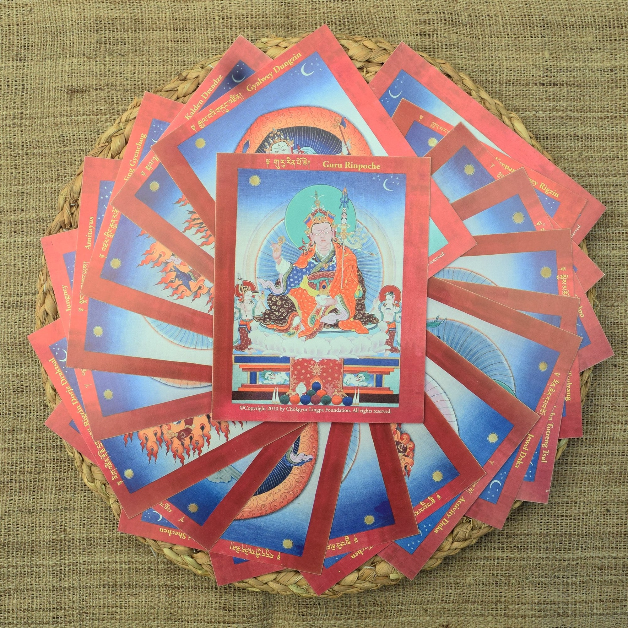 Twelve Manifestations of Guru Rinpoche Cards