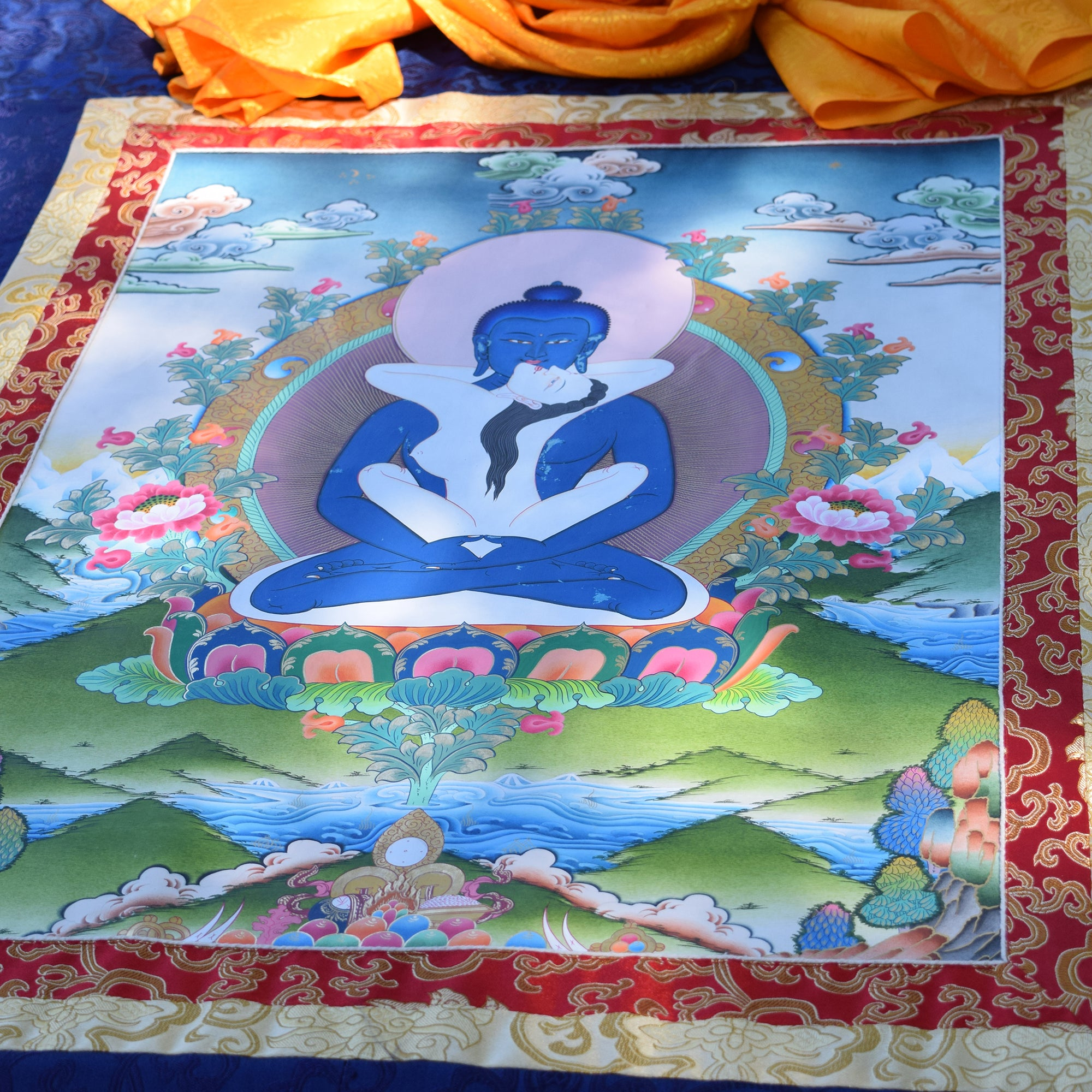 Samantabhadra Thangka