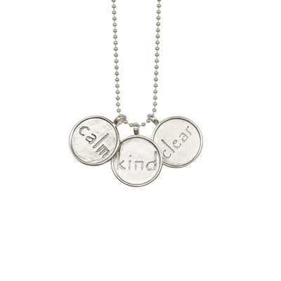 Calm Kind Clear Necklace