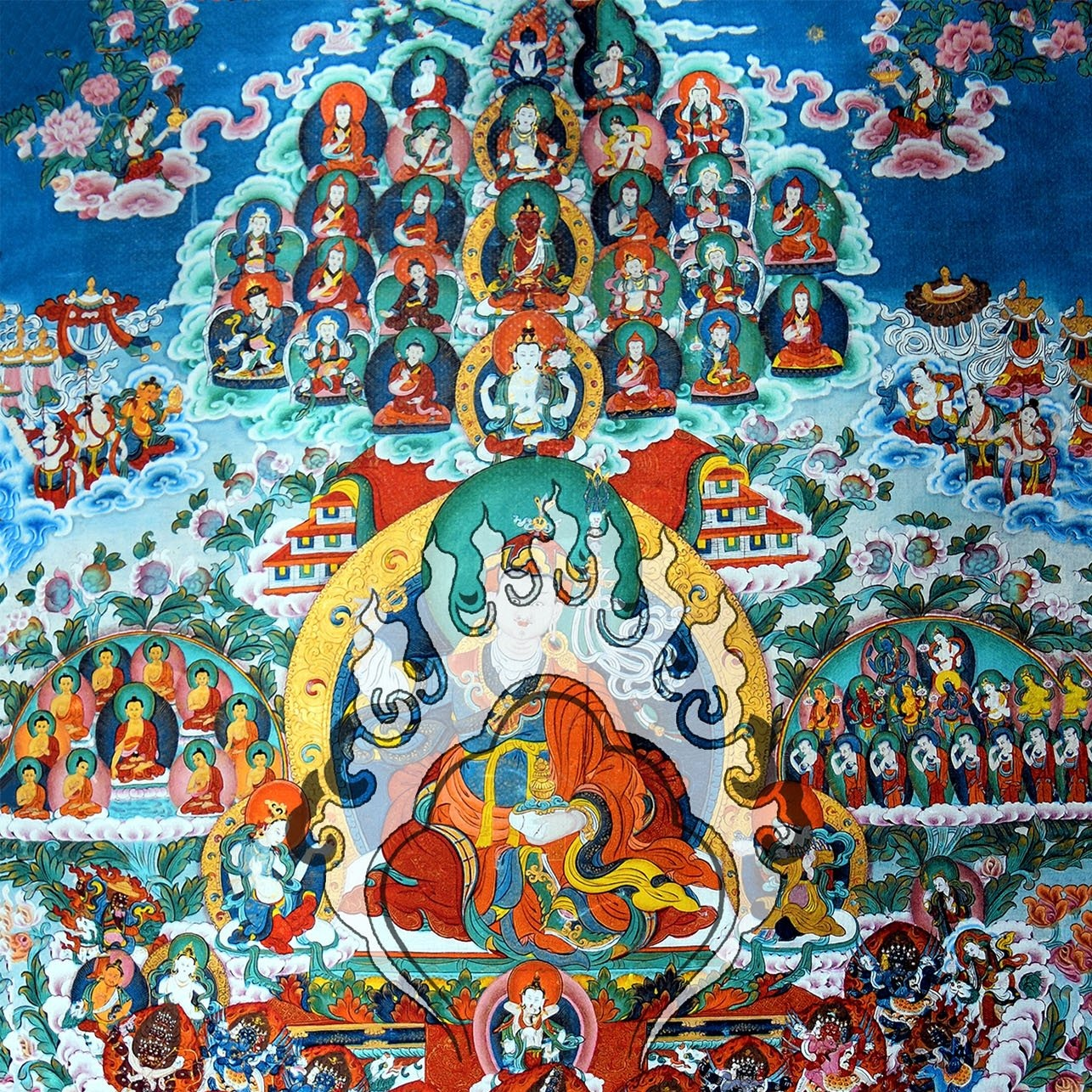 Refuge Tree Thangka