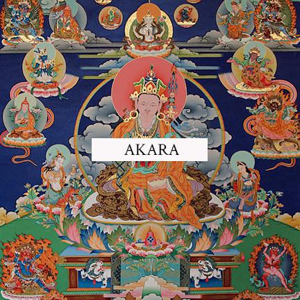 Twelve Manifestations Guru Rinpoche Thangka