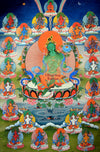 Twenty-One Taras Thangka