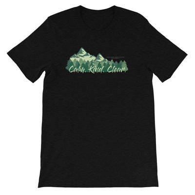 Calm Kind Clear Mountain Unisex T-Shirt