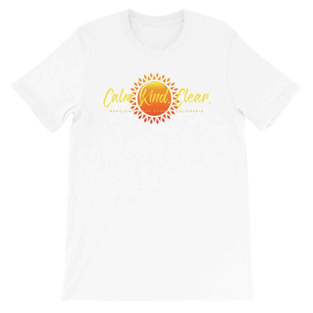 Calm Kind Clear Sun Unisex T-Shirt