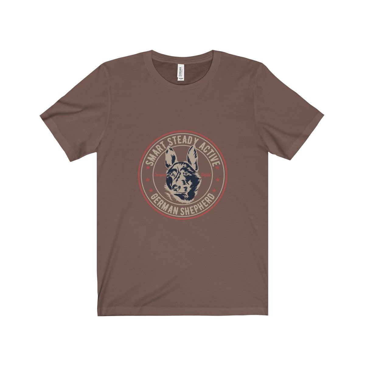 German Shepard Unisex Jersey Short Sleeve Tee