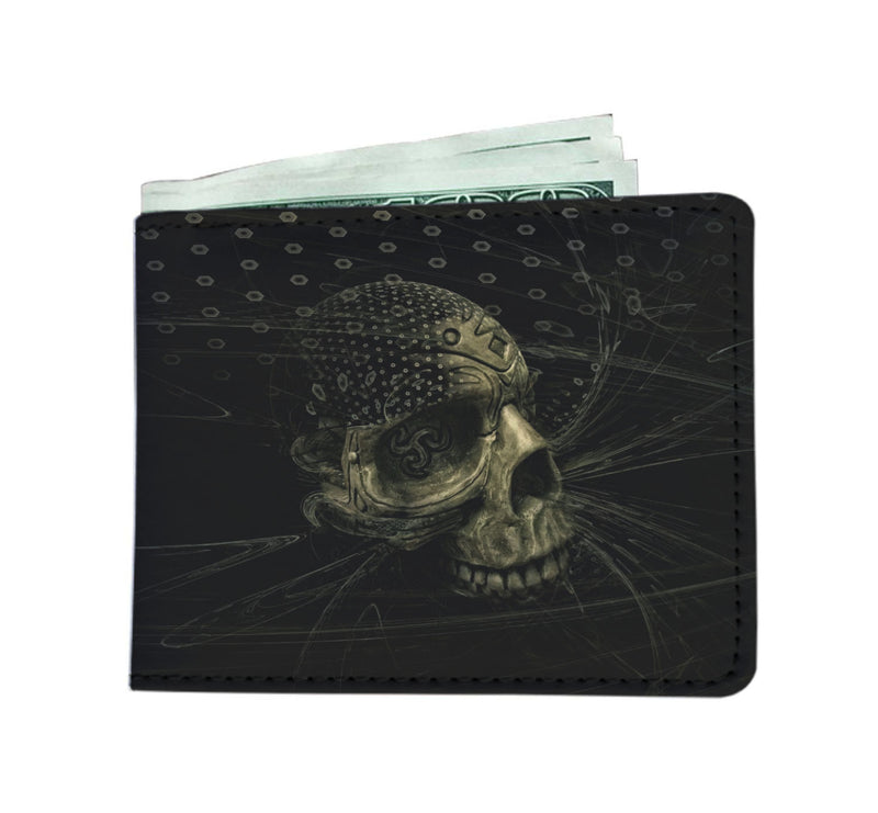 Skulls Graphic Men's wallet