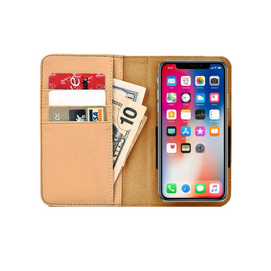 Hand lights phone wallet case