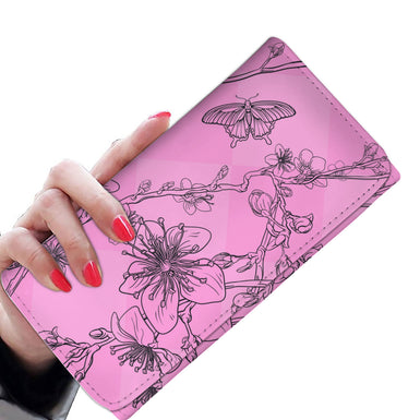 Bouquet of Butterflies Womens wallet