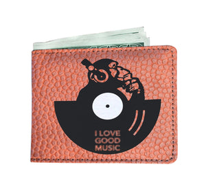 I Love Good Music Mens Wallet