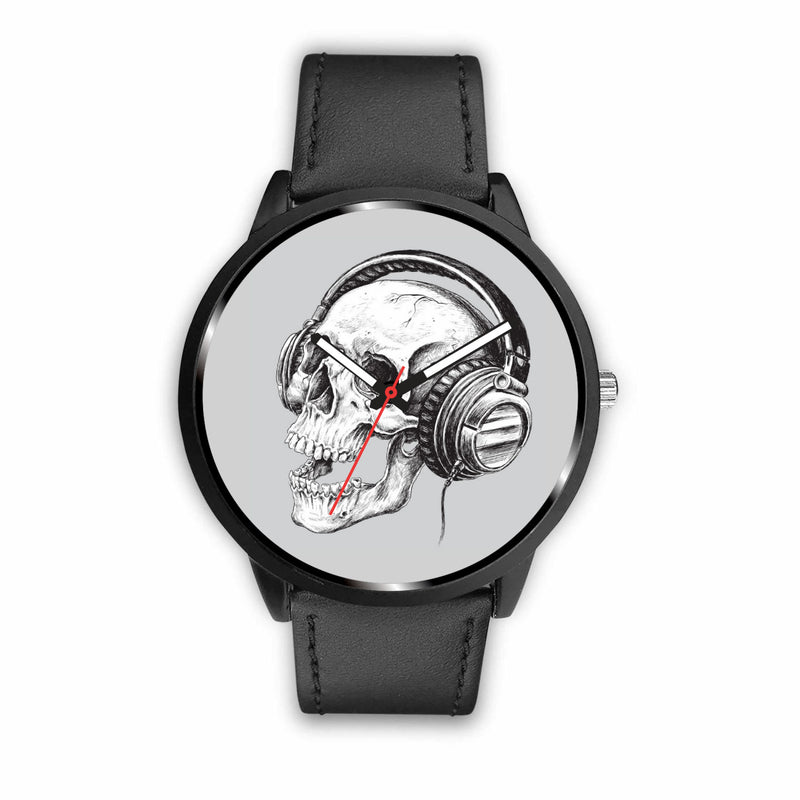 Skull and Phones Watch