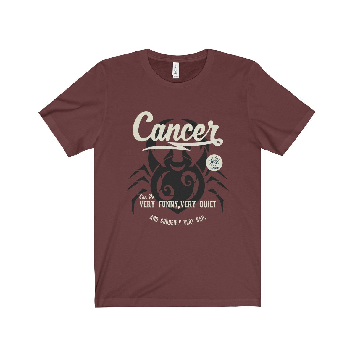 Cancer Unisex Jersey Short Sleeve Tee