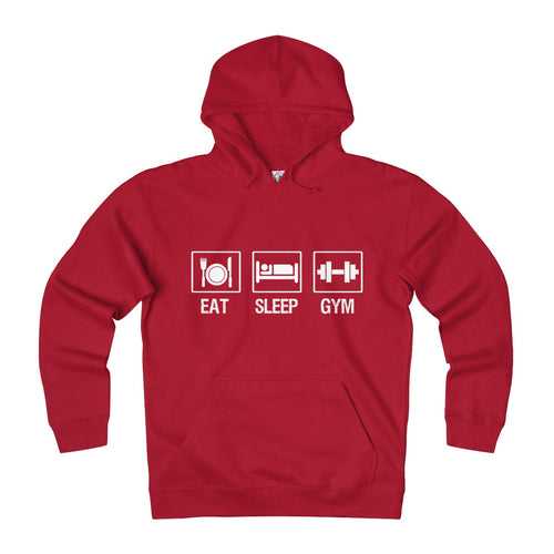 Eat, sleep, gym-Heavyweight Fleece Hoodie