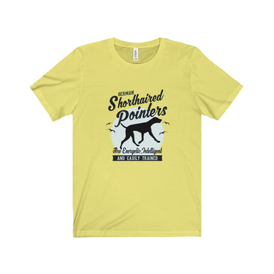German Shorthair Unisex Jersey Short Sleeve Tee