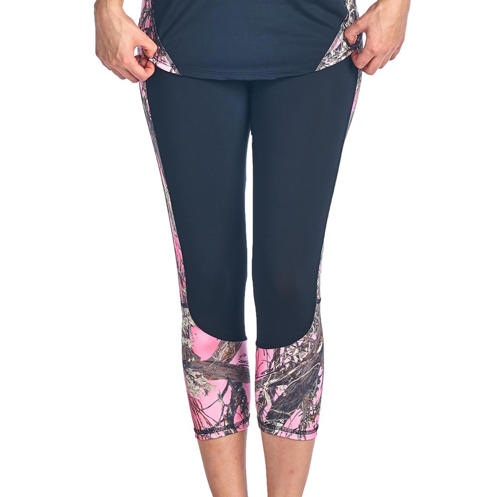 Women's Camo Capri Leggings